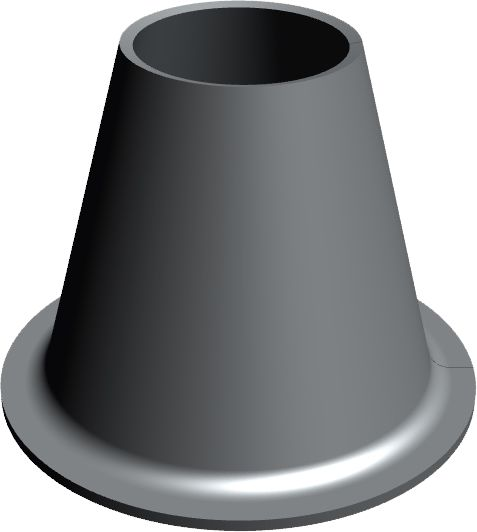 Concentric Cone with Brim, Sifea srl